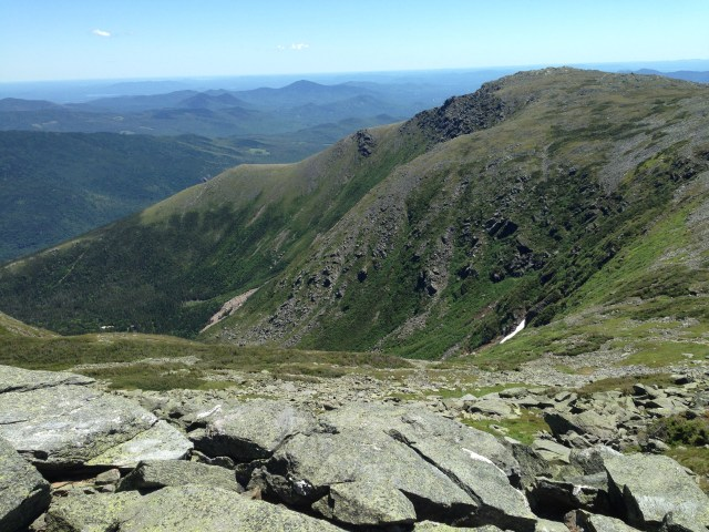 View of Tuckerman's Ravine as we turned onto the Lion's Head Trail and then onto the Alpine Garden trail.