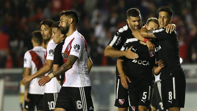 Independiente derrotó a River 1 a 0
