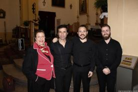 OLGA RUANO FELICITO A JUAN SANTAMARIA Y SUS MUSICOS 17