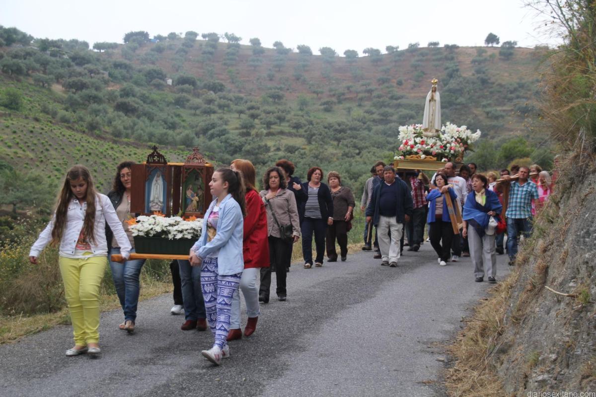 El sexitano Pago El Cerval   celebra este domingo la Romería de la Virgen de Fátima
