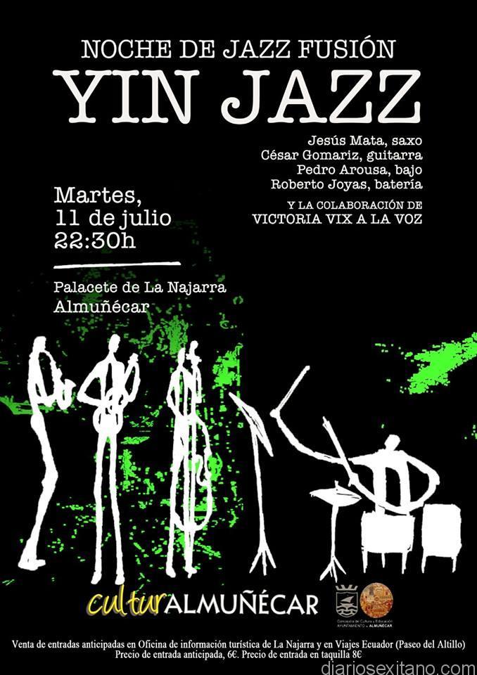 Yin Yazz ofrece un concierto este martes en Jardines del Palacete La Najarra de Almuñécar