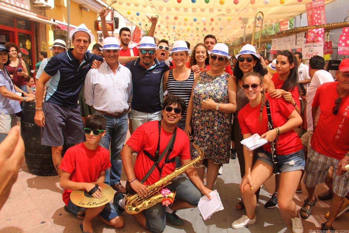 Almuñécar arrancó con gran ambiente su  Feria de Día 2017