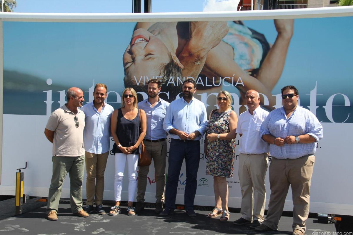 La Junta elige Almuñécar para la campaña de fidelización del turismo de playa