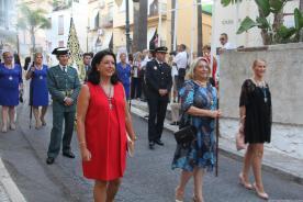 ALCALDESA Y EDILES EN LA PROCESION DE LA PATRONA ALMUÑECAR 17