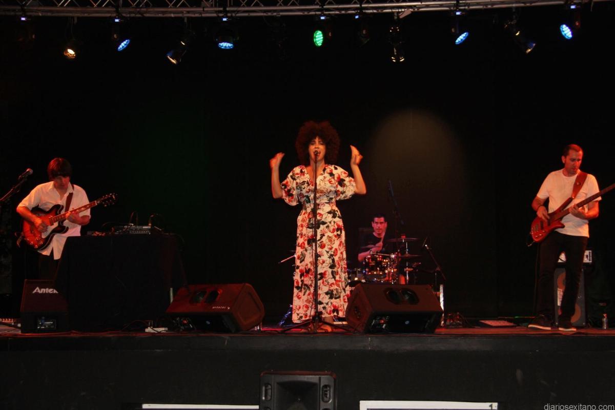 Almuñécar cierra esta noche el I Festival Sexy Funk &Soul en el Parque El Majuelo