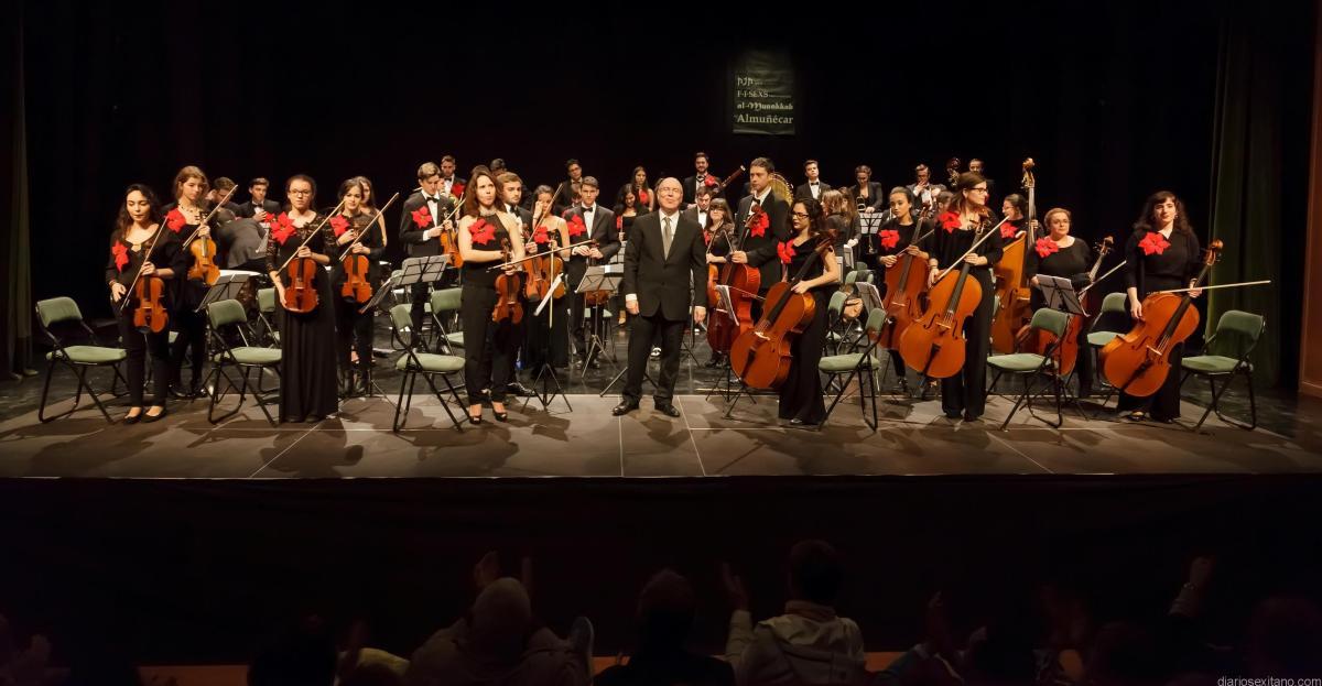 Michael Thomas dirige este domingo la Joven Orquesta Sinfónica en Almuñécar