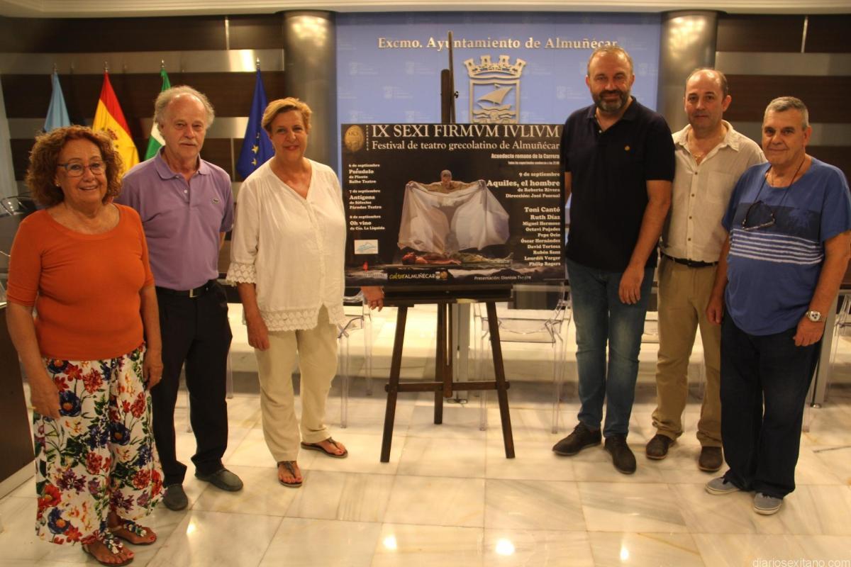 """Almuñécar celebrará  el IX Festival de Teatro Grecolatino """"Sexi Firmum Iulium"""", del 6 al 9 de septiembre."""