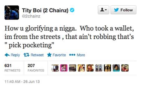 2 Chainz Answers Jackers