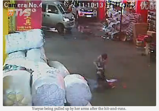 Chen Xianmei, the scrap peddler who stepped in to help little girl run over by van.