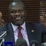 S. Sudan president names rival as vice president
