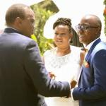 PHOTOS:Uhuru Attends Wedding Of Couple Who Met On Facebook