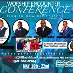Worship Encounter Conference in Beltsville Maryland