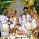 PHOTOS:Twin brothers marry beautiful twin sisters on the same day