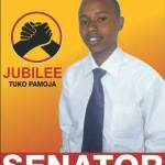 Ambitious 23 year old youth vying for Senator seat in Kiambu