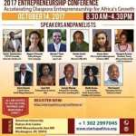 2017 ANNUAL ENTREPRENEURSHIP CONFERENCE-SATURDAY, OCTOBER 14, 2017