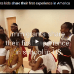 VIDEO: Immigrants kids share their first experience in America