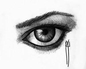 como dibujar a lapiz ojos (3)