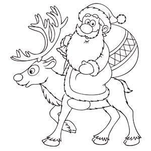 dibujos a lapiz de renos (4)