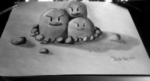 dibujos a lapiz en tercera dimension (9)