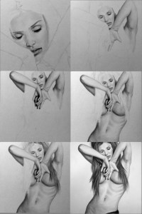 Dibujos a lápiz con sombras (12)