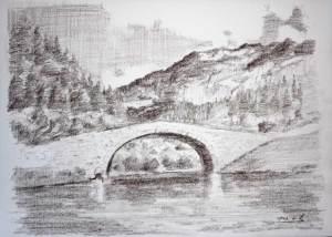como dibujar a lapiz un paisaje (9)