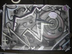 Dibujos a lápiz abstractos (1)