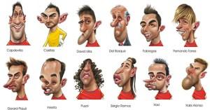 Dibujos a lápiz de jugadores de futbol (10)