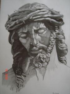 dibujos a lapiz de cristo (2)