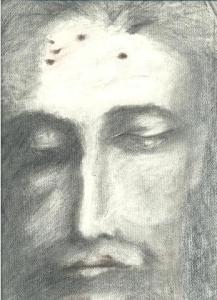 dibujos a lapiz de cristo (7)