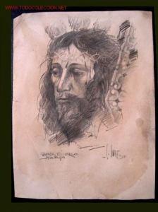 dibujos a lapiz de cristo (9)