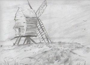 dibujos a lapiz de paisajes (11)