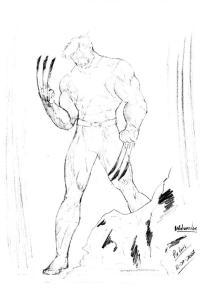 dibujos a lapiz de wolverine (1)