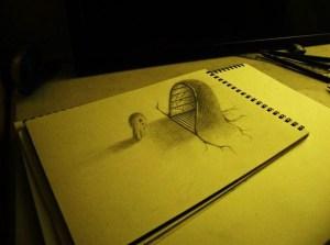 Dibujos a lápiz en 3d (1)