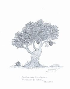 Dibujos a lápiz con corazones (7)