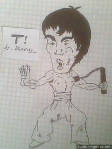 Dibujos a lápiz de caricaturas (3)
