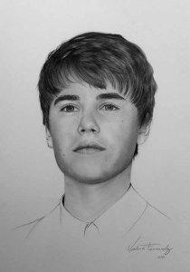 Dibujos a lápiz de Justin Bieber (9)