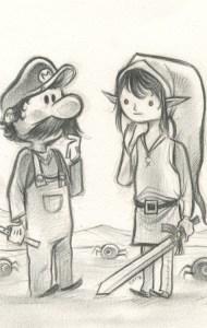 Dibujos a lápiz de Mario Bros (11)