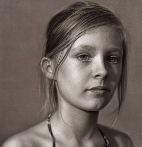 Dibujos a lápiz de hermosas mujeres (3)