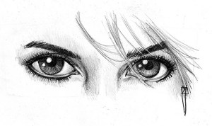 15 imágenes con opciones de dibujos a lápiz de ojos (5)