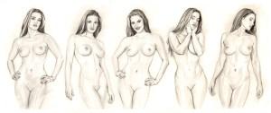 15 imágenes de dibujos a lápiz de boca de mujer (9)