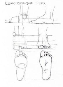 15 imágenes de dibujos a lápiz de manos y pies (15)