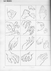 15 imágenes de dibujos a lápiz de manos y pies (3)