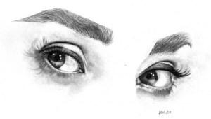 15 opciones de dibujos a lápiz de ojos (8)