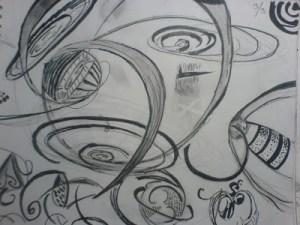 15 opciones de dibujos a lápiz geométricos (12)