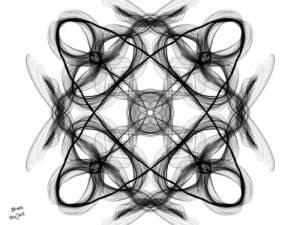 Dibujos geométricos a lápiz (4)