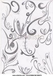 Dibujos abstractos a lápiz (10)