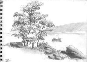 Dibujos de paisajes (10)