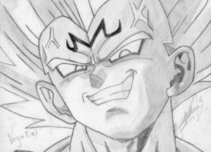 Dibujos a lápiz de dragon ball z (10)