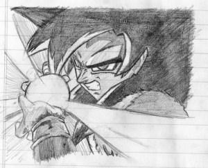 Dibujos a lápiz de dragon ball z (12)