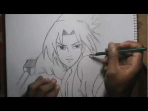 10 Dibujos a lapiz de Naruto (8)